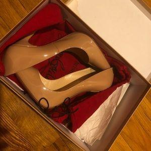 Shoes - Beige Christian Louboton's
